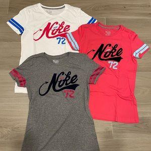 Nike Woman's T-Shirt 3 Pack